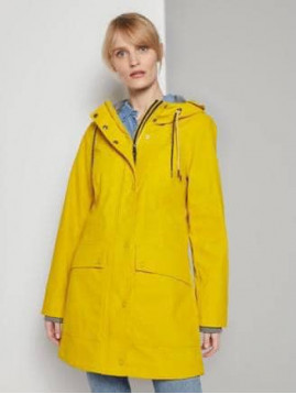 Dámska bunda žltá