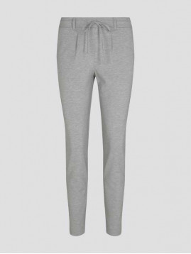 Dámske nohavice športovo-elegantné šedé