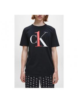 Dámske tričko čierne CK s nápisom