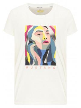 Dámske tričko s farebným obrázkom