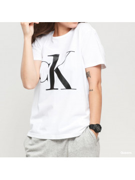 Dámske tričko CALVIN KLEIN s čiernym nápisom