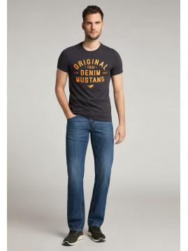 Pánske tričko MUSTANG - tmavomodré