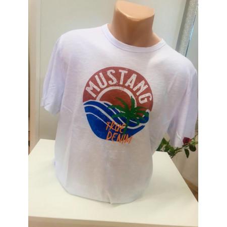 NOVINKA - Pánske tričko s palmou