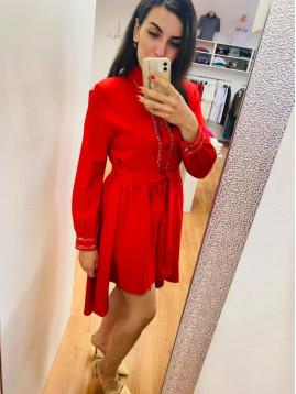 Dámske šaty PF červené